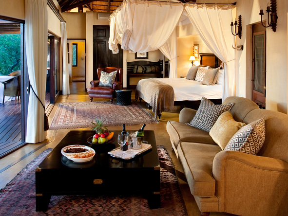 Lion Sands Tinga Lodge - Spacious suites