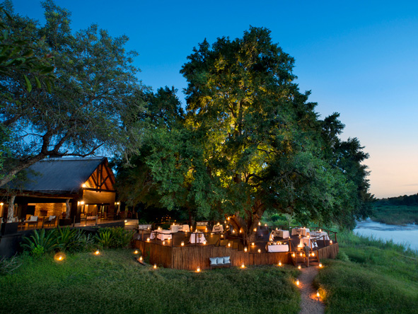 Lion Sands Tinga Lodge - Sabie River location