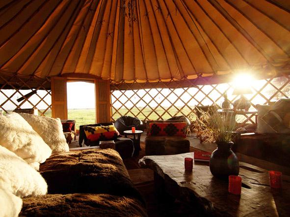 Nduara Loliondo - Comfortable lounge area