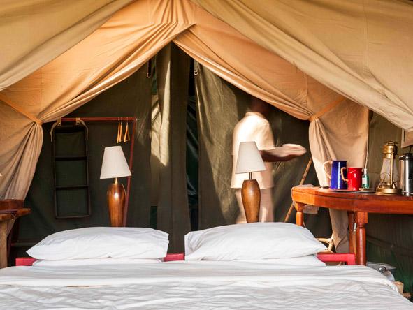Nduara Loliondo - Comfortable tented suites
