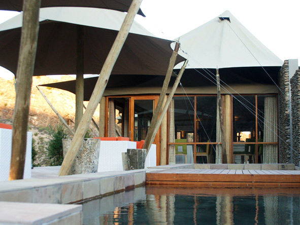Exclusive Cape Romantic Journey - Private plunge pool