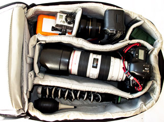 What to Pack in Your Camera Bag: Storage