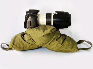 What to Pack in Your Camera Bag: Beanbag Mount