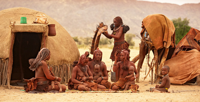 Top Cultural Experiences in Africa - Himba women & children