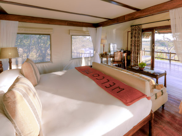 Savute Elephant Camp - Spacious suites