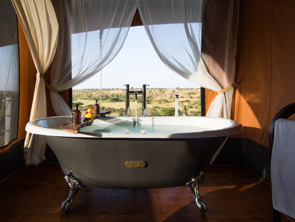 Mahali Mzuri - Masai Mara views