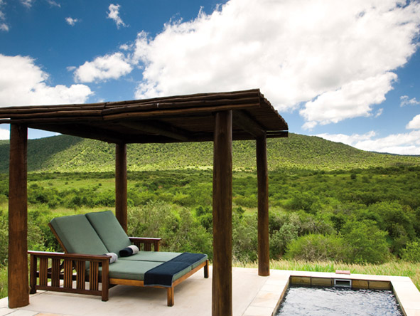 Iconic South Africa: Cape & Garden Route Safari - Private plunge pool