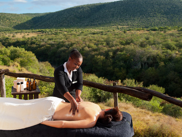Iconic South Africa: Cape & Garden Route Safari - Outdoor massage treatments