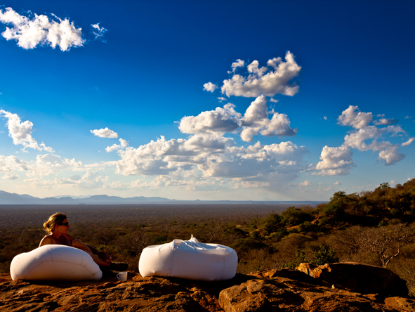 Kipalo Camp - Sensational views