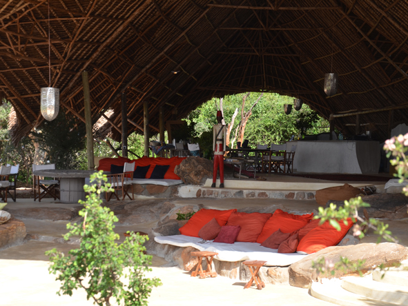 Kipalo Camp - Comfortable lounge areas