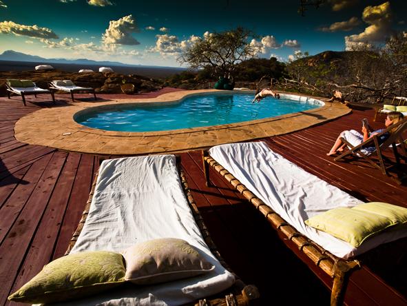 Kipalo Camp - Swimming pool