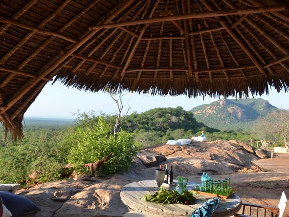 Kipalo Camp - Plenty of shade