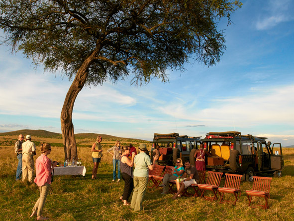 Sala's Camp - Game drives