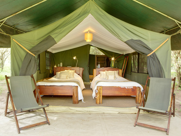 Sala's Camp - Spacious safari tents