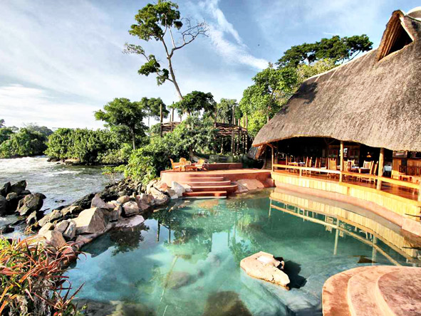 Wildwaters Lodge - Free-flowing design