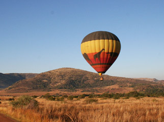 A Guide to Your First South African Safari - Hot air ballooning at Pilanesberg