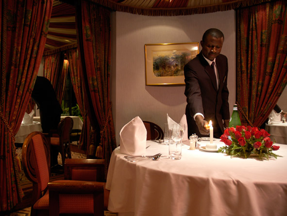 Nairobi Serena Hotel - International cuisine