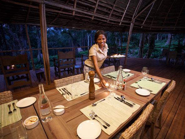 Ngaga Camp - Excellent cuisine