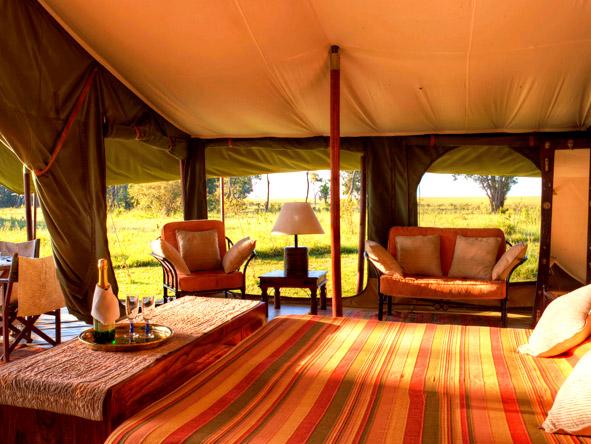 Adamson's Footsteps Kenya Explorer - Hemingway-style tented suite