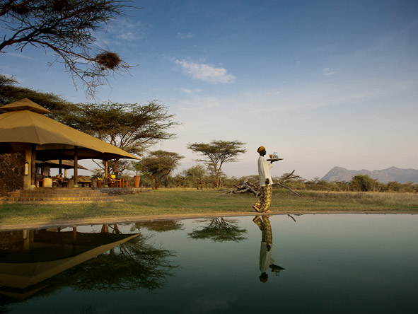 Adamson's Footsteps Kenya Explorer - Swimming pool