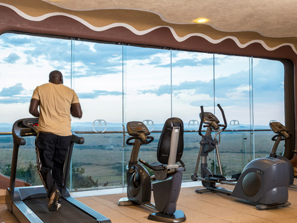 Mara Serena Safari Lodge - Gym facilities