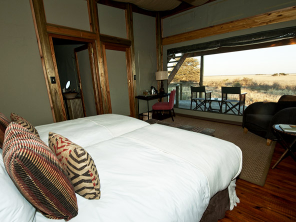 Kalahari Plains Camp - Stunning views