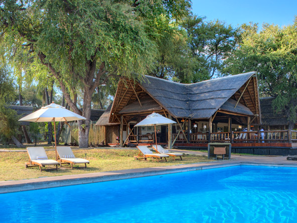 Khwai River Lodge - Swimming pool