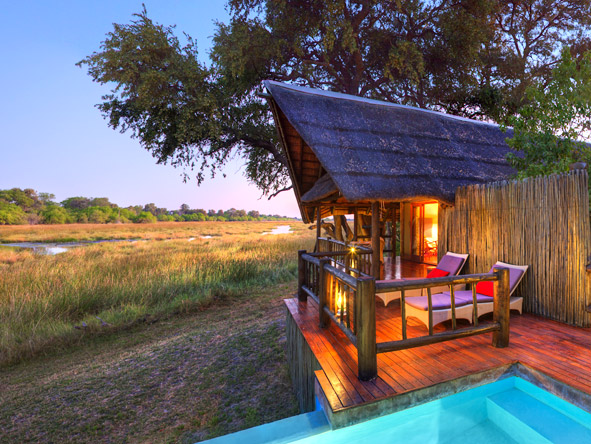 Khwai River Lodge - Private honeymoon Suite