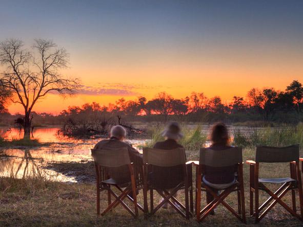 Khwai River Lodge - Stunning sunsets