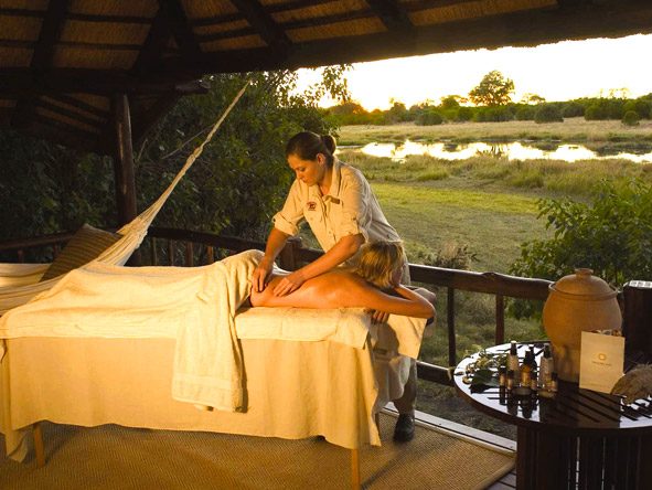Khwai River Lodge - Spa treatment