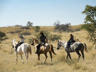 South Africa's Safari Secrets - horseback safaris at Tswalu