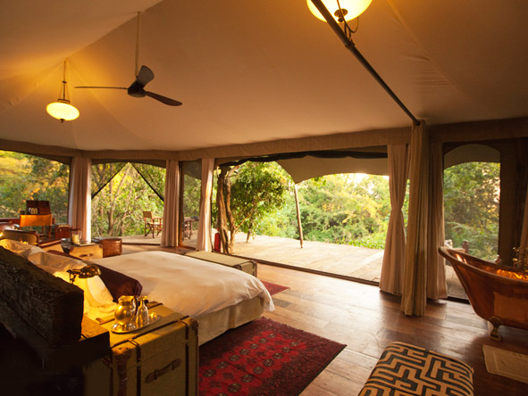 Mara Plains Camp - Spacious tented suites