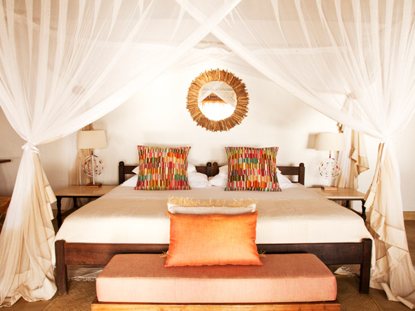 Azura @ Quilalea Private Island - King-sized bed