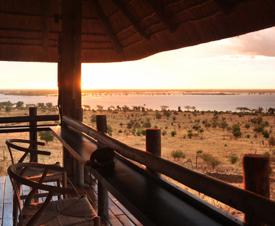 Most sunsets are enjoyed out on a game drive but why not soak one up from the comfort of your lodge?