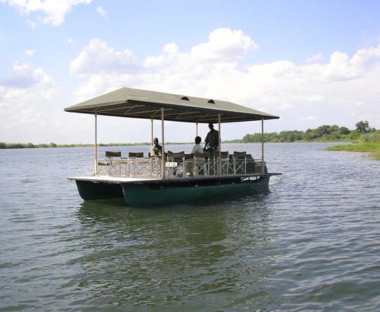 Larger boats offer you the chance to stretch your legs & enjoy easy game viewing.