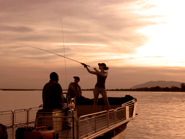 Cast a line for the Zambezi's tiger fish, Africa's most sought-after freshwater game fish.
