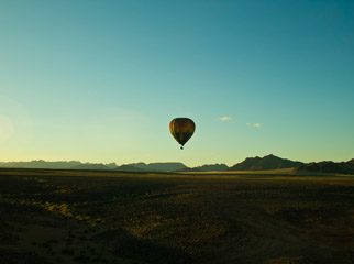 How to Shoot African Landscapes - balloon