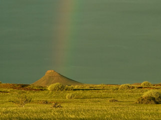 How to Shoot African Landscapes - rainbow