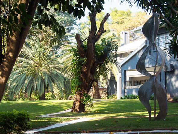 Latitude 13 degrees - Lovely gardens
