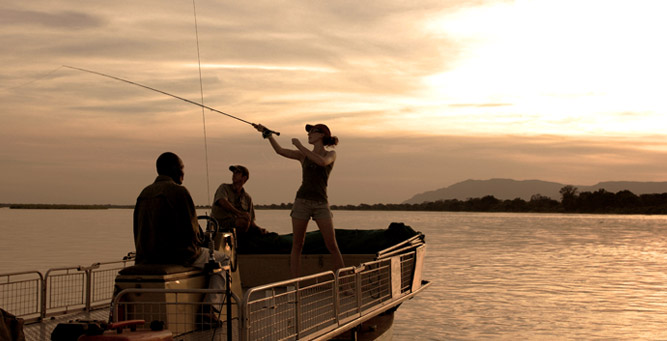 Things to Do in Zambia - fishing in the Lower Zambezi