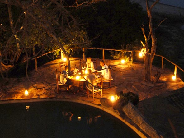 Sand Rivers Selous - Private dining
