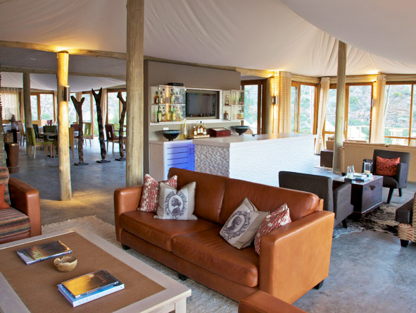 Dwyka Tented Lodge - Welcoming place