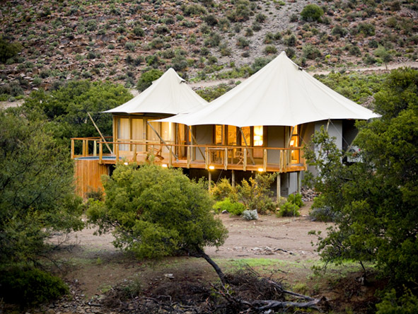 Dwyka Tented Lodge - Timber & canvas suites