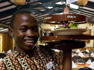 Top 10 Restaurants in Africa - The Carnivore staff