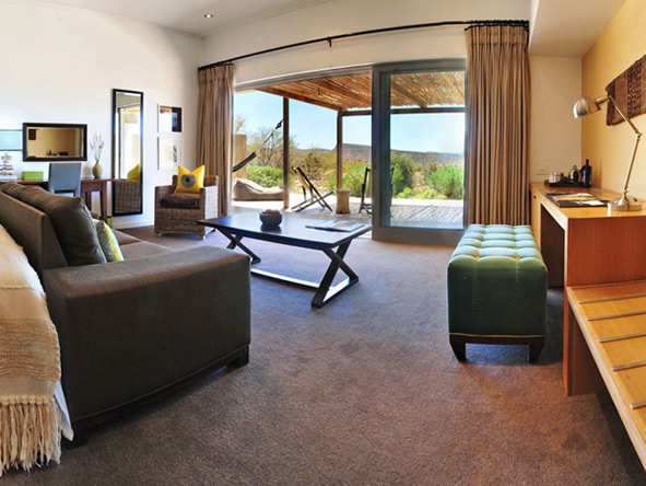 Gondwana Lodge - Private viewing decks