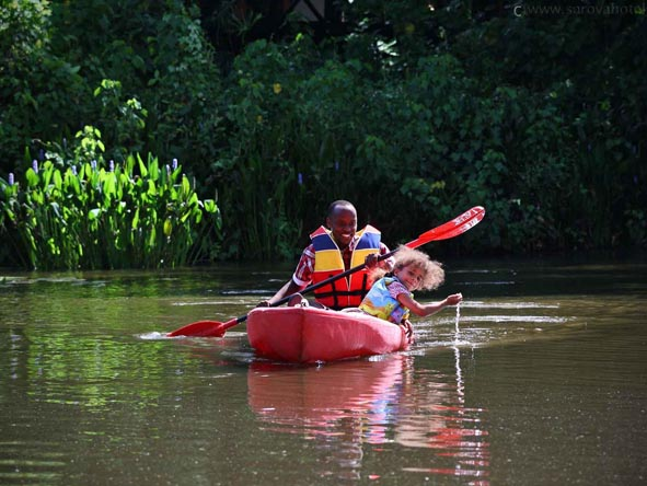 Canoe trips are part of our multi-activity itineraries, ranging from Zambezi adventures to just starting out.
