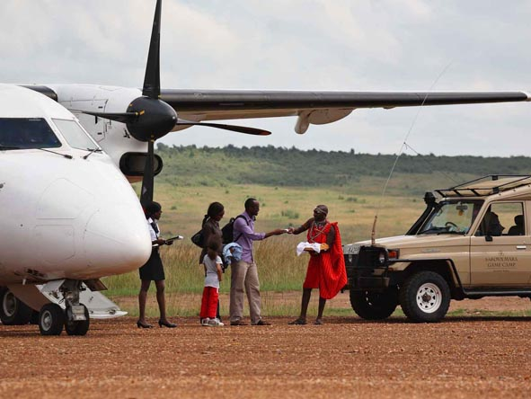 Affordable doesn't mean uncomfortable! Convenient air transfers are often part of the itinerary.
