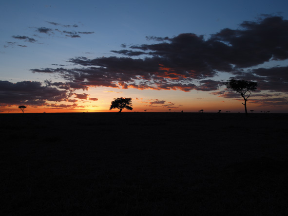 Affordable safari or not - an African sunset is always priceless!