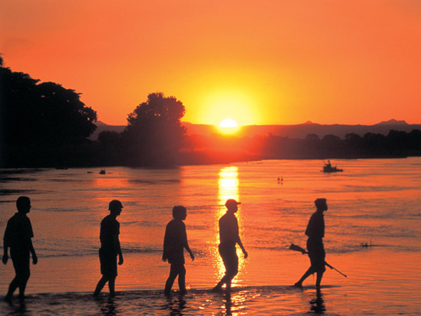 Walk the South Luangwa - Stunning sunsets