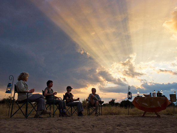 Walk the South Luangwa - Sundowners